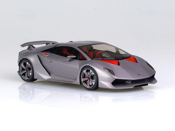 Aoshima super car No.21 010730 Lamborghini SESTO ELEMENTO 1//24 scale kit New JP