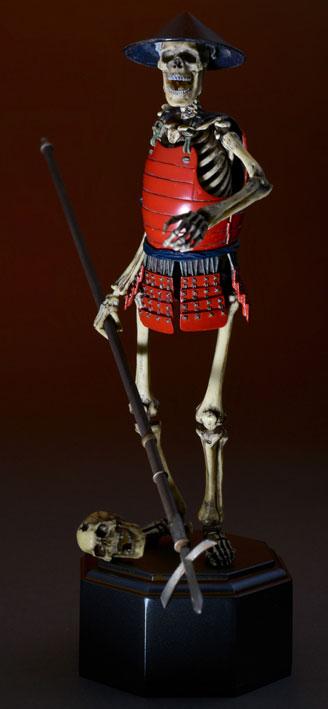 KAIYODO / 海洋堂 / TAKEYA 自在置物 / 竹谷隆之 / 骸骨武者 / 著彩版