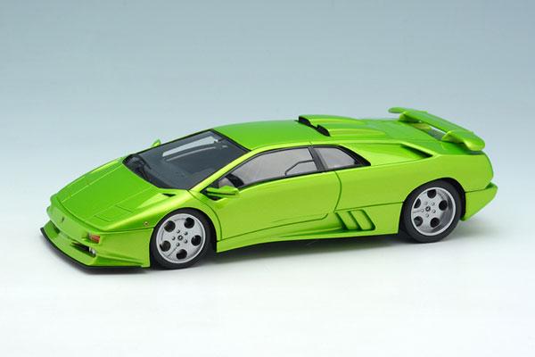 Amiami Character Amp Hobby Shop 1 43 Lamborghini Diablo Se30 Jota 1993 Yellow Metallic Back Order