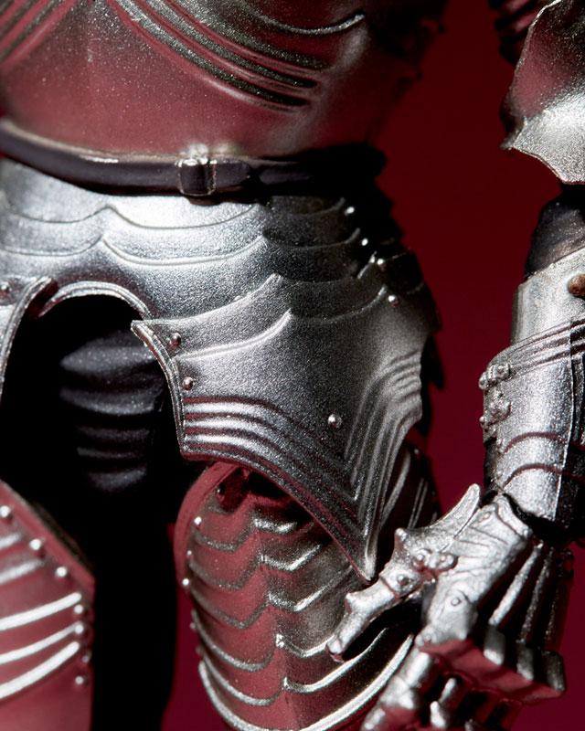 KAIYODO / 海洋堂 / 竹谷式自在置物 / 15世紀哥德式戰甲 / 銀色
