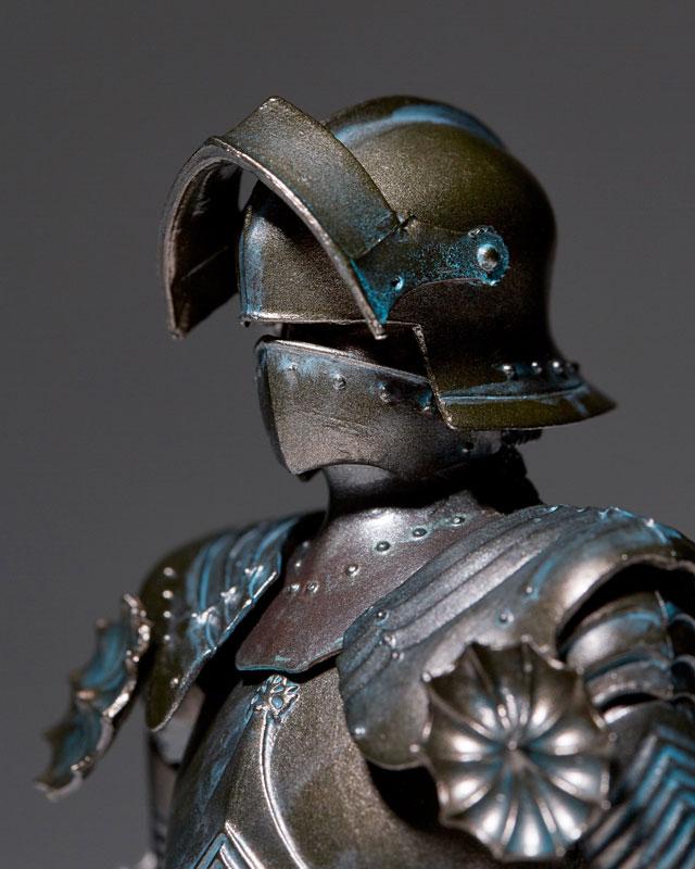 KAIYODO / 海洋堂 / TAKEYA 自在置物 / 竹谷隆之 / 15世紀哥德式戰甲 / 青銅色 / 輪轉科技