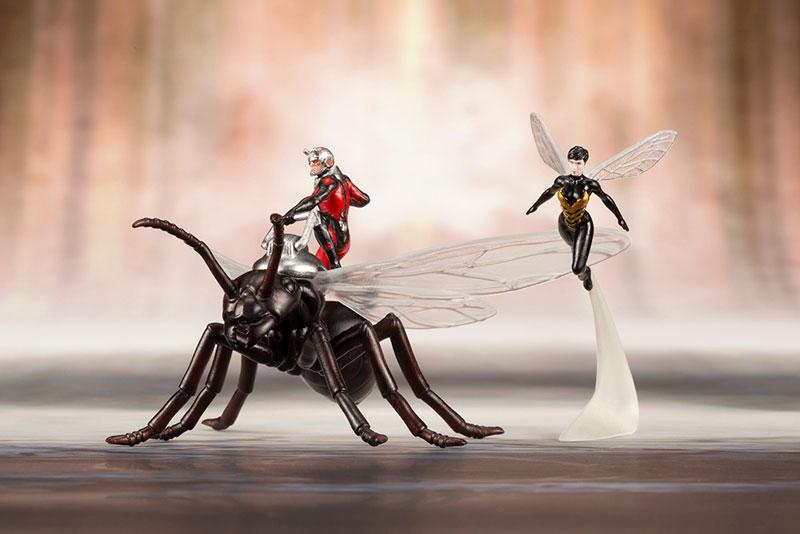 Kotobukiya / 1/10 / ARTFX+ / 漫威MARVEL / 復仇者聯盟系列 / 蟻人與黃蜂女 / 漫畫版 / PVC套組