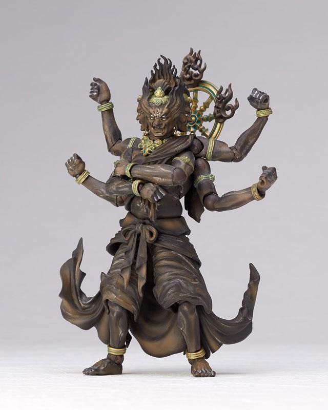 [限量販售] KAIYODO / 海洋堂 / TAKEYA 自在置物 / 竹谷隆之 / 金剛夜叉明王 / 木雕版