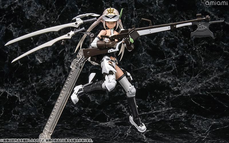 メガミデバイス コラボ 武装神姫 猟兵型エーデルワイス 1/1 プラモデル
