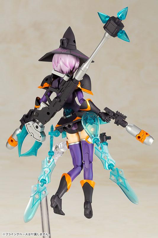 Kotobukiya / Megami Device / 女神裝置 / Chaos&Pretty 魔女 DARKNESS / 第8.1彈 / 組裝模型