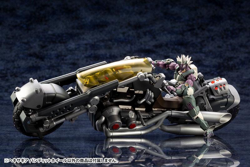 Kotobukiya / 1/24 / Hexa Gear / 六角機牙 / 支配者 / 盜匪之輪 BANDIT WHEEL / 組裝模型
