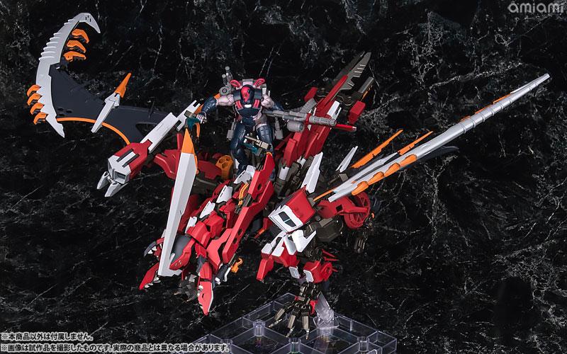 [限定特典] KOTOBUKIYA / 壽屋 / 1/24 / Hexa Gear六角機牙 / 烈焰狂怒Agnirage / 組裝模型
