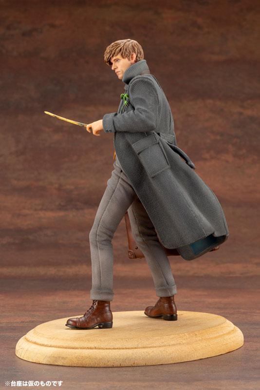 Kotobukiya / 1/10 / ARTFX+ / 哈利波特 / 怪獸與葛林戴華德的罪行 / 紐特斯卡曼德 / PVC / HARRY POTTER Fantastic Beasts: The Crimes of Grindelwald