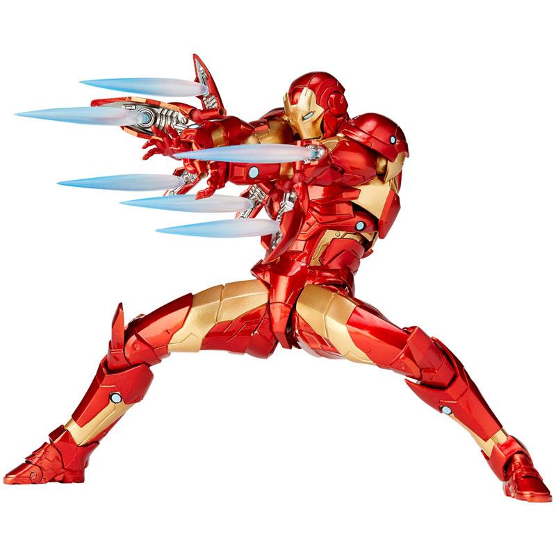 KAIYODO / AMAZING YAMAGUCHI NO.13 / 山口可動 / 漫威MARVEL 鋼鐵人 血邊裝甲 Bleeding Edge Armor ver.