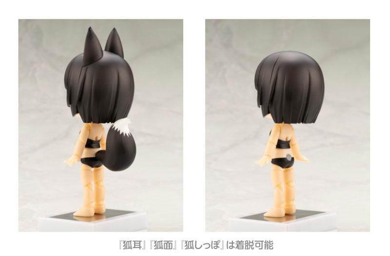 キューポッシュフレンズ くろきつね-黒狐- 可動フィギュア