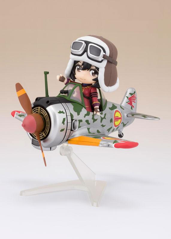 Figuarts mini キリエ&隼一型 (キリエ仕様) 『荒野のコトブキ飛行隊』[BANDAI SPIRITS