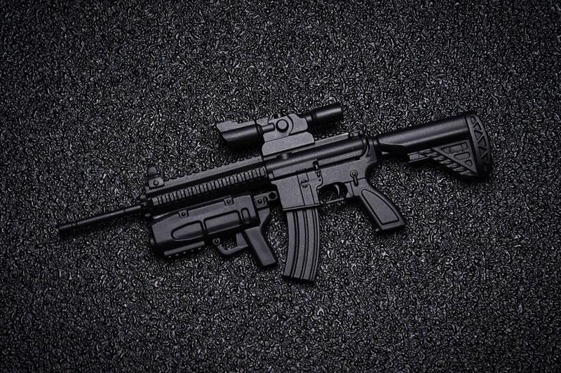 KM-032 1/12 AW-002 AR-416 プラモデル