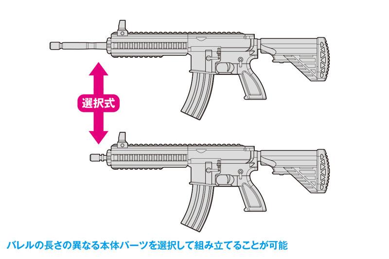 KM-033 1/12 AW-002 AR-416 2in1セット[初回限定] プラモデル