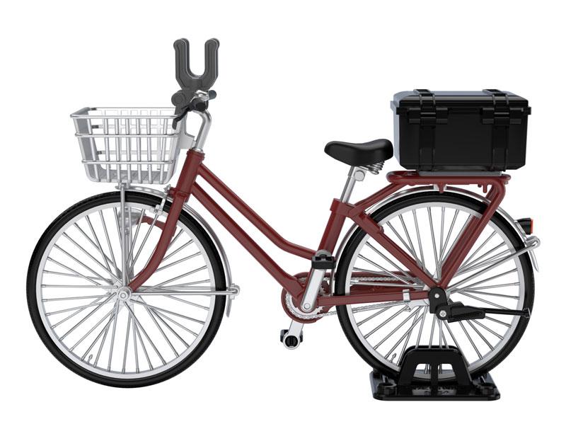 リトルアーモリー [LM005]通学自転車(指定防衛校用)マルーン[トミーテック]