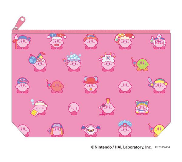 星のカービィ KIRBY MUTEKI! SUTEKI! CLOSET ポーチ ピンク_0