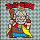 ジグソーパズル ビックリマン スーパーゼウス 144ピース(144-01)