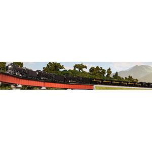 10-1158 伯備線 石灰輸送貨物列車セット