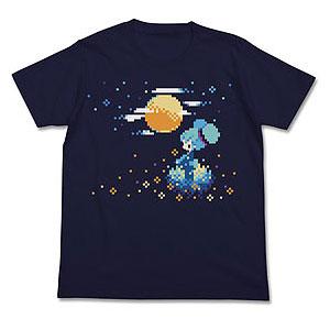 初音ミク ぷちでびるver. 月明かりTシャツ/ネイビー-L