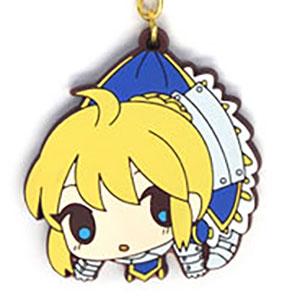 Fate/Zero セイバー つままれキーホルダー