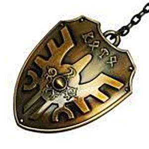 ドラゴンクエスト メタリックアイテムキーホルダー ロトの盾