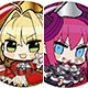 Fate/EXTELLA 缶バッジコレクション vol.1 50個入りBOX