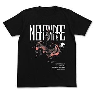 デート・ア・ライブ 原作版 時崎狂三 Tシャツ/BLACK-S