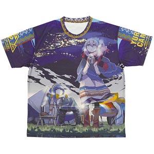 ゆるキャン△ 両面フルグラフィックTシャツ-L