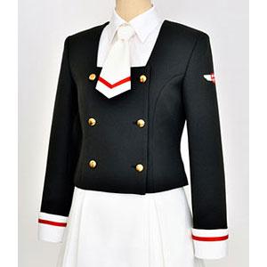 カードキャプターさくら クリアカード編 友枝中学校女子制服 冬服ジャケットセット-Ladies L