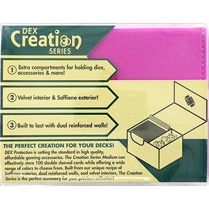 カードアクセサリコレクション DEX Deckbox M ピンク