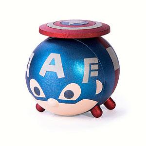 『マーベル ツムツム』 メタル・フィギュア キャプテン・アメリカ