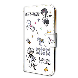 手帳型スマホケース(iPhone6/6s/7/8兼用)「B-PROJECT」01/キタコレ(グラフアートデザイン)