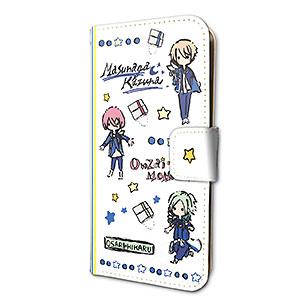 手帳型スマホケース(iPhone6/6s/7/8兼用)「B-PROJECT」03/MooNs(グラフアートデザイン)