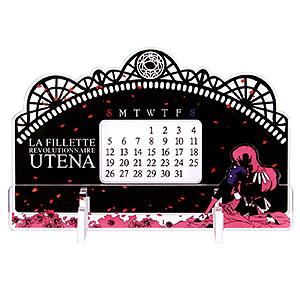 少女革命ウテナ 卓上アクリル万年カレンダー2
