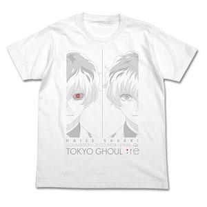 東京喰種トーキョーグール:re 佐々木琲世 Tシャツ/WHITE-S