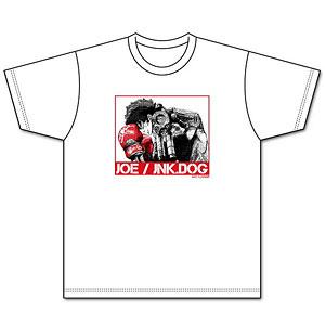 『メガロボクス』 キービジュアル柄Tシャツ WHITE L
