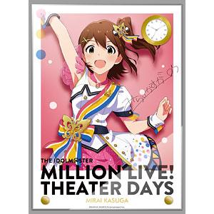 アイドルマスター ミリオンライブ! 時計付アクリルアート 春日未来 ヌーベル・トリコロール ver.