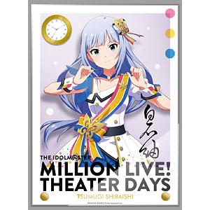 アイドルマスター ミリオンライブ! 時計付アクリルアート 白石紬 ヌーベル・トリコロール ver.