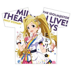 アイドルマスター ミリオンライブ! フルカラーTシャツ エミリースチュアート ヌーベル・トリコロール ver.