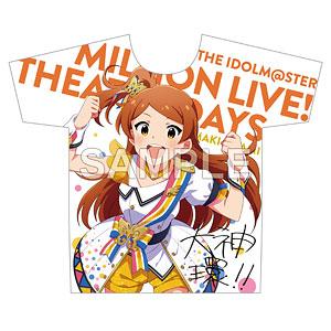 アイドルマスター ミリオンライブ! フルカラーTシャツ 大神環 ヌーベル・トリコロール ver.