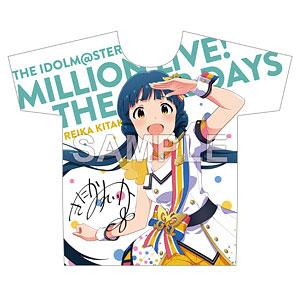 アイドルマスター ミリオンライブ! フルカラーTシャツ 北上麗花 ヌーベル・トリコロール ver.