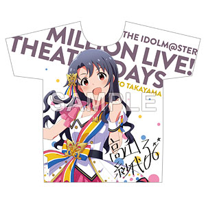 アイドルマスター ミリオンライブ! フルカラーTシャツ 高山紗代子 ヌーベル・トリコロール ver.