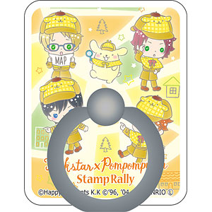 あんさんぶるスターズ!×サンリオキャラクターズ スマホリング Trickstar×POMPOMPURIN