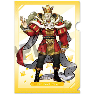 Fate/EXTELLA LINK クリアファイル vol.2 カール大帝