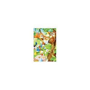 ジグソーパズル プチライト ディズニー ドーナッツどろぽう? 99ピース (99-440)