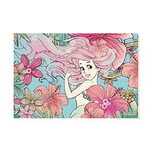 パズルデコレーションmini ディズニー Royal Floral(アリエル) 70ピース (70-010)