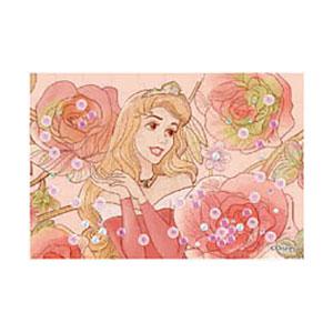 パズルデコレーションmini ディズニー Royal Floral(オーロラ姫) 70ピース (70-013)