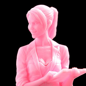 1/35 Ma.K. 女性整備士(B) マルティナ技士 pianissimo(ピアニシモ) ※ピンク成型色 組立キット