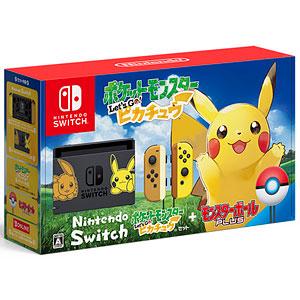 Nintendo Switch ポケットモンスター Let's Go! ピカチュウセット(モンスターボール Plus付き)