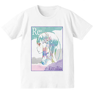 Re:ゼロから始める異世界生活 Ani-Art Tシャツ(エミリア)/メンズ(サイズ/L)
