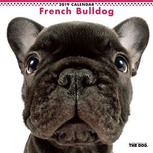 THE DOG カレンダー フレンチブルドッグ (2019年)